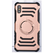 Cool Pink Iphone8 Plus Shell com Kickstand