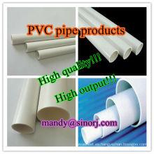 Alta calidad y mejor precio-pipa del PVC line(50-200mm) de producción
