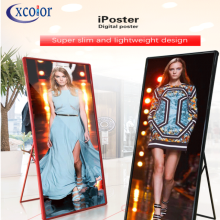 Indoor Advertising P2.5 Poster Stand LED Video Display