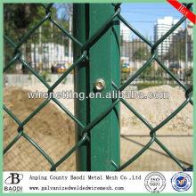 backyard chain link fence slats metal fence