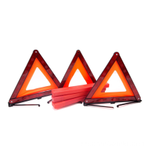 Varningstriangeln Nödvarnings Triangle Reflektor Safety Triangle Kit