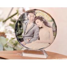 Cristal en blanco para marcos de fotos o regalos internos de láser