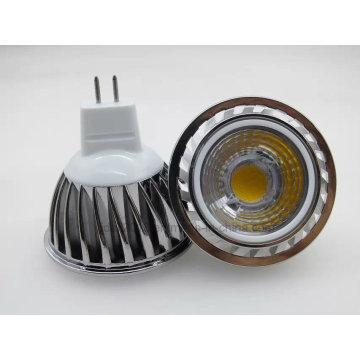 Nouveau Dimmable DC12V MR16 COB LED Ampoule Lumière