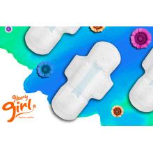 Super dry weave net sanitary napkins for ladies