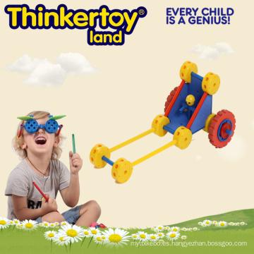 Boy Park coche de plástico de bloqueo de entretenimiento jardín juguete