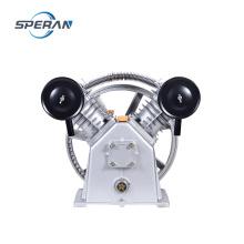 Petit 2 cylindres 8 bar 3 hp courroie électrique compresseur pompe à air