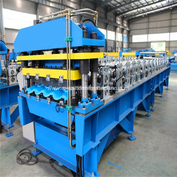 Colored tile roll forming machinery