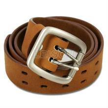 Militaire cuir de vachette de haute qualité Leather Belt Buckle allié