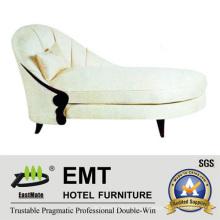 Simples e agradável sofá de lazer de estilo simples Chaise Longue (EMT-LC15)
