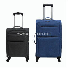 Snow flake soft luggage sets suitcases