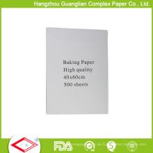 40cmx60cm Antihaft-Pergament-Futter-Blatt-Kasten-Verpackung