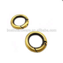 2015 New Style High Quality Metal Spring Gate Ring