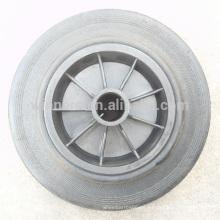 Rueda de cubo de basura de 8 pulgadas / ruedas de cubo de reciclaje / ruedas de cubo de basura