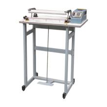 Machine de scellage de pédale machine de scellage à pédale en aluminium de cadre en aluminium de scellement de chaleur d'impulsion pour sacs en pp