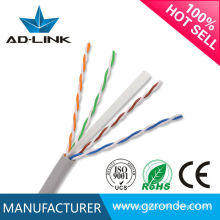 23awg utp 0.57mm cat6 diámetro del cable Cat6e cable ethernet