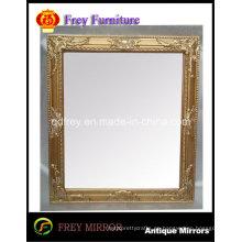 Espejo de madera maciza decorativo / marco