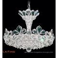 Small modern home decorative crystal pendant light chandelier LT-62054