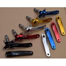 170mm Mão de manivela de uma peça Cranket de alumínio mtb Crank Road Bike Crank Compatível SHIM ANO Mountain Bike Bicycle Parts