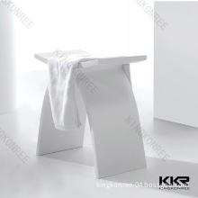 Mould Made Solid Surface Bathroom Stool