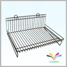 Free standing wire retail metal stationery display rack