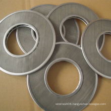 Concentric Circle Filter Disc Wire Mesh