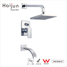 Haijun Trading Company Bathroom Thermostatic Wall Mounted Brass Shower Faucet