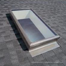 Fenêtre de toit en aluminium de lucarne