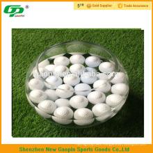 Bulk water float golf driving range ball/crazy golf balls