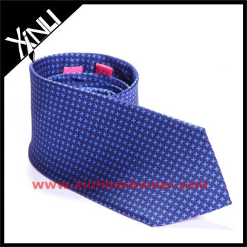 Blue Dog Tooth Printing Party Necktie