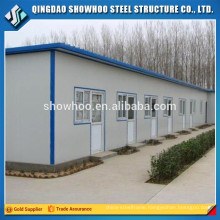 Low Cost Prefabricated Industrial Metal Temporary Sheds Designs