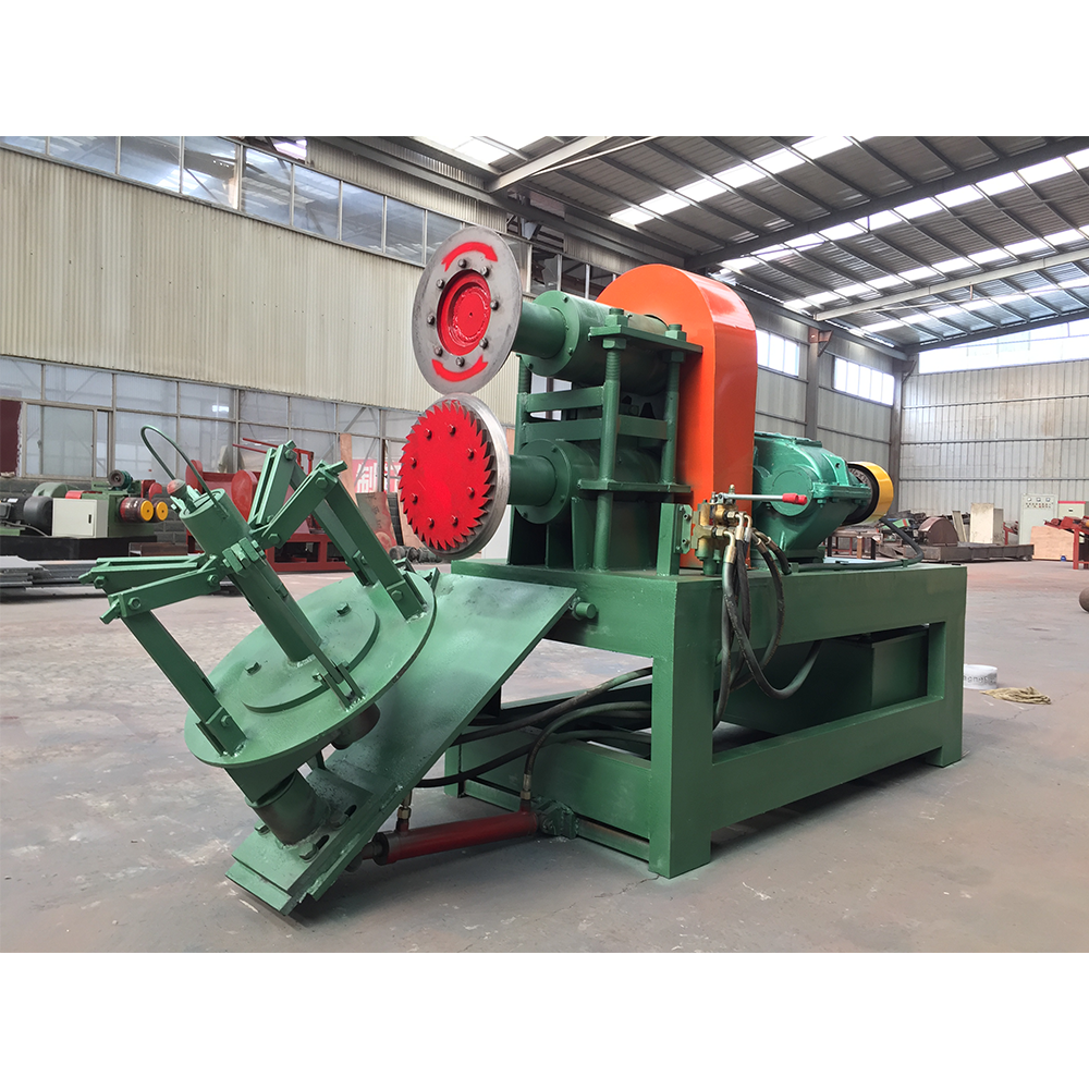 Double-side tyre cutting machine (1)