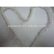 PVC tinsel for Christmas tree decoration