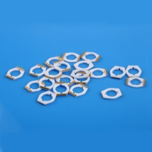 Base cerâmica de metalização com revestimento de ouro para bobina