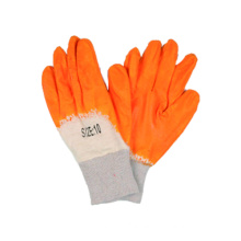 Light Style Interlock Liner Work Glove with Nitrile Coated