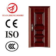 Nueva puerta de acero de seguridad de diseño en Yongkang
