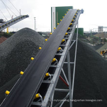Large Capacity Rubber Belt Conveyer for Power Plant Transporting Raw Materials