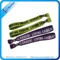 Фестиваль пользовательские сублимационной печати браслетов со штрих-кодом