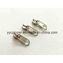 5 # Non-Lock короткой вкладкой Puller нейлоновые молнии слайдер для сумок