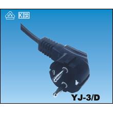 Cables de alimentación coreana