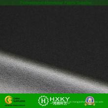 Poliéster listrado 4 caminho do Spandex tecido revestido por tecido usando