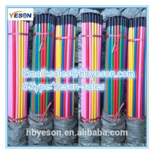 hot sale cheap price floor cleaning pvc coated wood broom handles with plasric cap