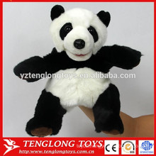 Cheap hand puppets kids animal hand puppets factory