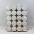 Unscented Tealight Candles White Set of 100