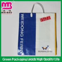 Einkaufsverpackung Poly-Kunststoff Gabel Ohr Taschen Großhandel