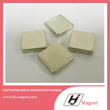 China Manufacture High Quality Zinc NdFeB Block Magnet