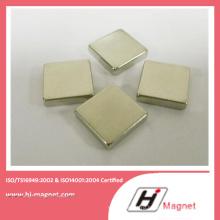 Китай производство высококачественных цинка блок неодимовый магнит