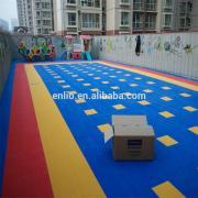 Piso de bloqueio ao ar livre infantil Playground