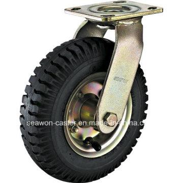 Série pneu pneumatique - Roulette en caoutchouc