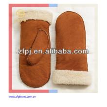 Lady's Mode warme Lederhandschuhhandschuh