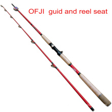 Ofji Guid and Reel Seat Torpedo Rod Black Fish Rod